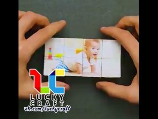 Очень оригинальная идея поделки _История нашей семьи_ l Lucky Craft – подпишись