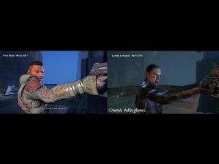 Mass Effect: Andromeda. Полная версия vs Утекший геймплей