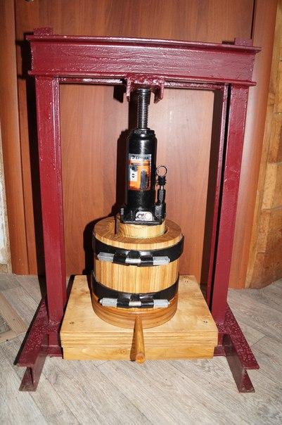 Масло пресс 12 тонн (бюджетный вариант)