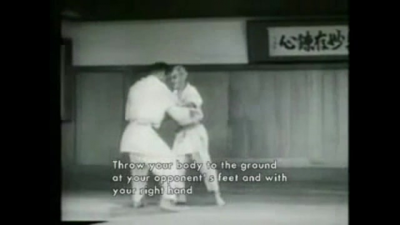Редчайшее видео Кьюзо Мифуне 10 дан дзюдо Кодокан1