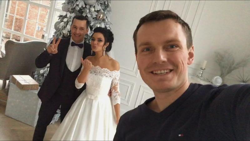 Свадьба Ирины и Сергея , фото съемка прошла в Famous studios, стилист vk.com/norkina86