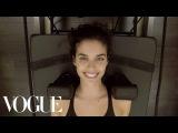 Model Sara Sampaio's Pre-Victoria's Secret Show Workout | Vogue