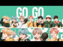 BTS GO GO || SPEED PAINT