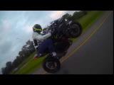 Kawasaki H2 Wheelie