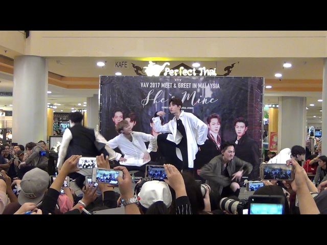 171029 VAV - ABC @ Meet Greet in Malaysia Sunway Pyramid
