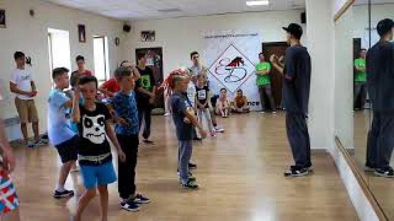 Открытая тренировка по Break Dance (Борисполь 18.08.2017)