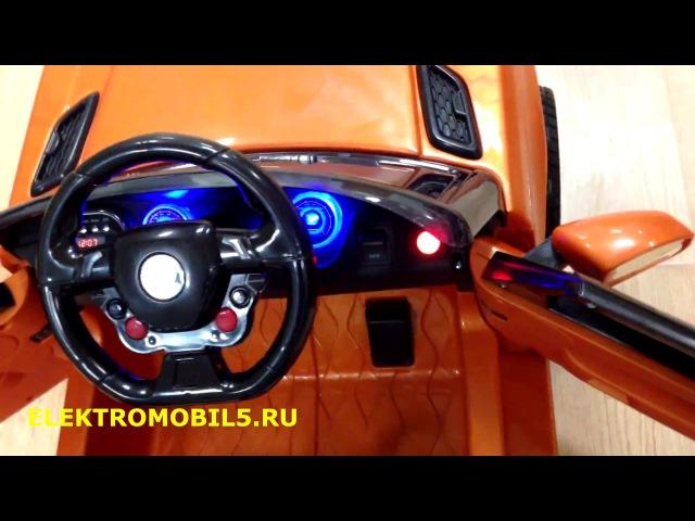 Обзор детской электромашины - Range Rover