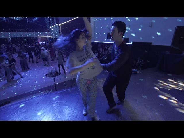 Jordan Frisbee Larissa Thayane dancing Brazilian Zouk