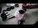 SamyangFalcon 8mm f3.5 disassembly  shaving the lens hood