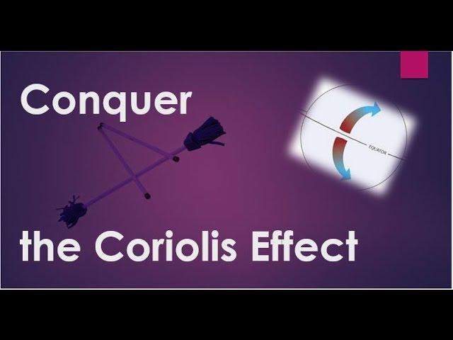 Conquer the Coriolis Effect