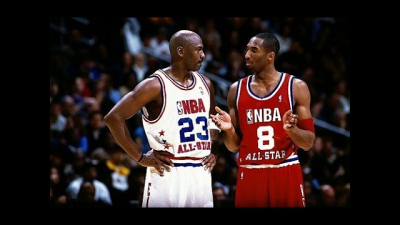 2003 NBA All Star Game 2003 - Michael Jordan vs Kobe Bryant