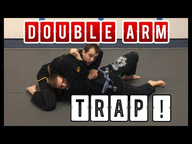 Dominant Side control to North/South double arm TRAP and multi-ATTACK | BJJ MMA