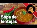 Чечевичный суп с варено-копчёным беконом – Sopa de lentejas – мексиканская кухня