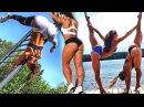 Workout Super Girls Female Calisthenics Motivation