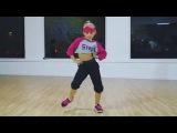 Dance Moms - Lilliana Ketchman doing a Hip Hop combo! - 8 years old