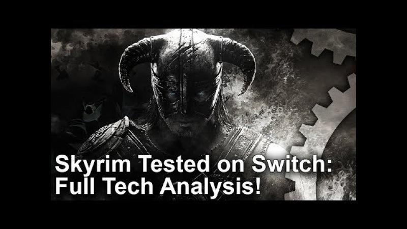 Skyrim: Switch vs PS4 Graphics Comparison Docked vs Undocked Analysis!