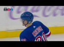 Pavel Buchnevich great pass for Kreider who finishes a gorgeous rush (2017)