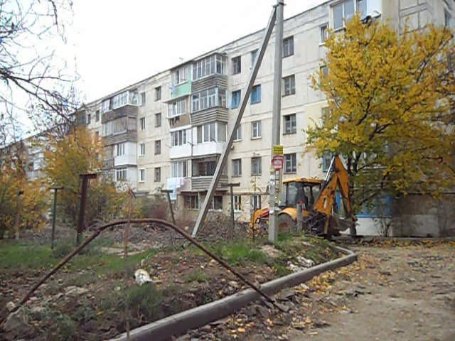 Информер: Ремонтники на северной стороне Севастополя