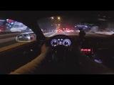Audi TT running into traffic - AT NIGHT