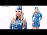 Ancilla Tilia Latex Aviator Interview  LatexFashionTV