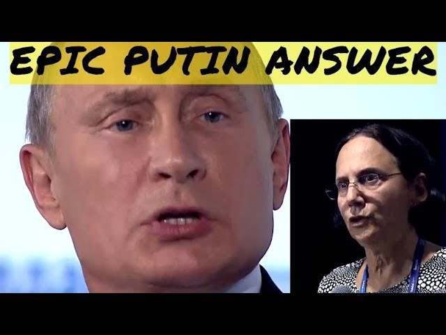 Putin Tongue-Lashes American Journo Who Criticized Him For Promoting Stereotypes About America