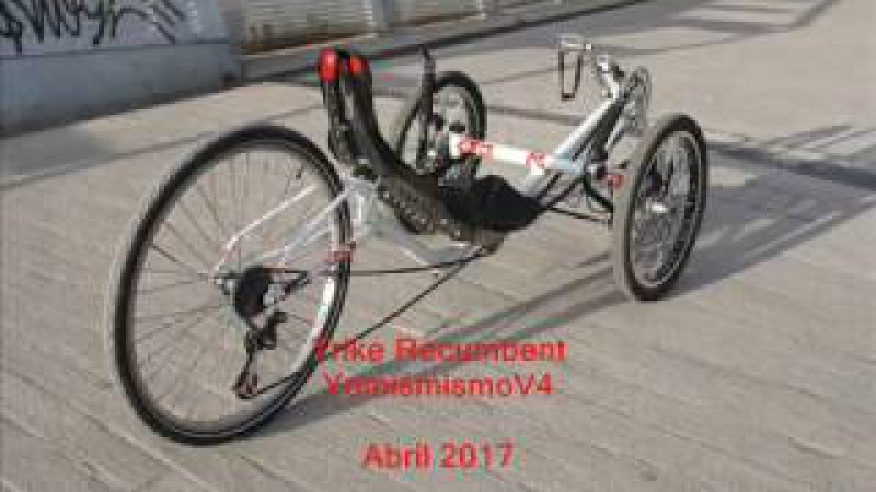 Trike recumbent DIY en Madrid ESPAÑA
