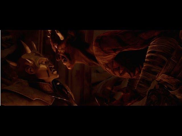 Savage Opress Finds Darth Maul on Lotho Minor - Star Wars: The Clone Wars 1080p HD