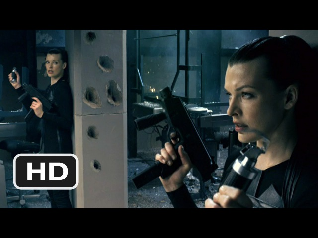 Resident Evil Afterlife 4 Movie CLIP Double Trouble 2010 HD
