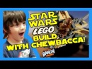 Lego STAR WARS Wookie Gunship LIVE Build | Banchi Brothers Toy Review