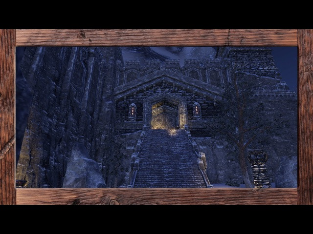 ESO Homestead - Pariah's Pinnacle Fully Decorated on the PTS
