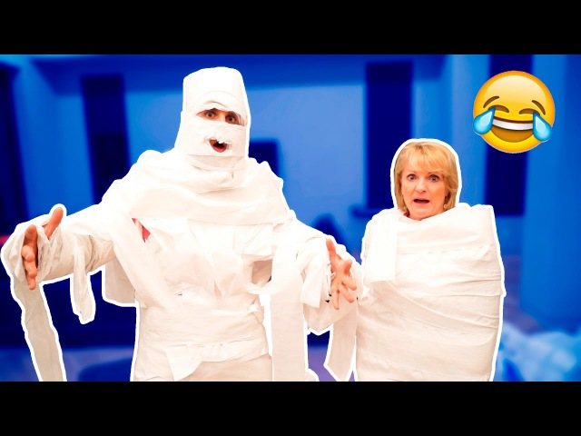 10,000 LAYERS OF TOILET PAPER (MUMMY CHALLENGE)