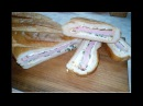 Фаршированный Батон Хлеб Багет без запекания EN