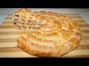 Мясной пирог УЛИТКА из слоеного теста Мясной пирог Просто и вкусно