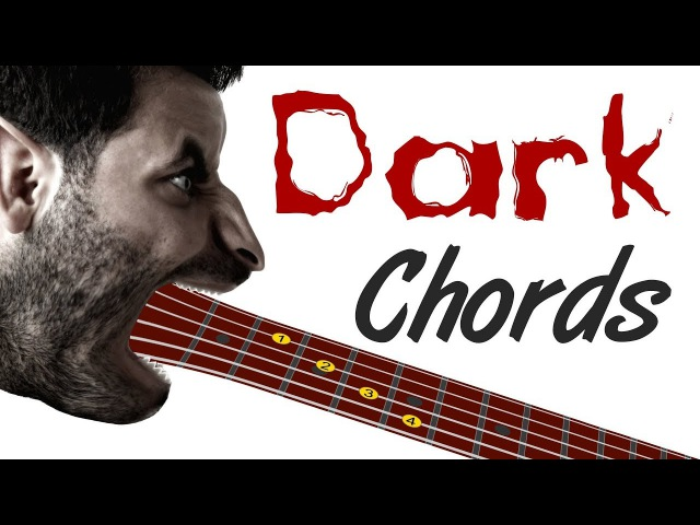 Dark Guitar Chords - 50 Shapes to Spook Your Listeners