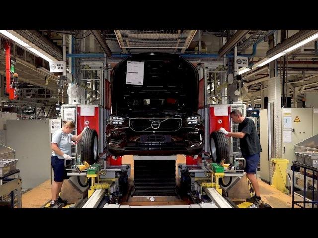 Volvo XC40 Production in Ghent, Belgium