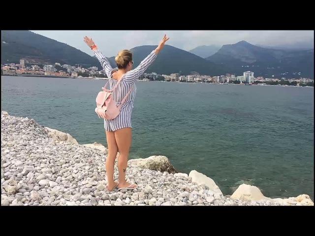 Montenegro girls dance in Kotor, Budva, Herceg Novi, Hawaii Budva, Jaz Beach