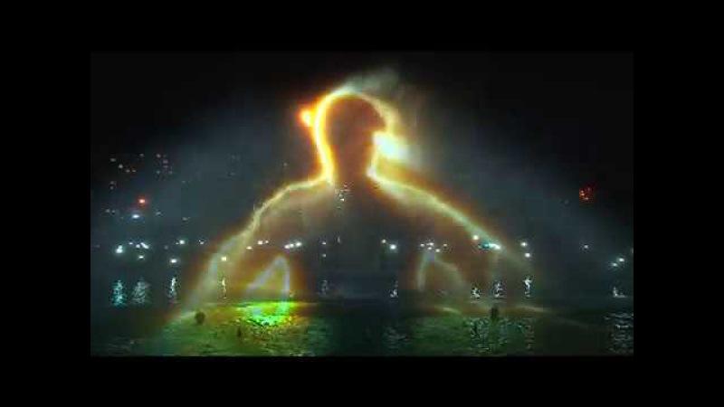 Репортаж з відкриття комплексу фонтанів «Перлина кохання»