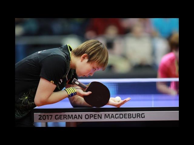 ISHIKAWA Kasumi vs ZHU Yuling | WS SF | 2017 German Open