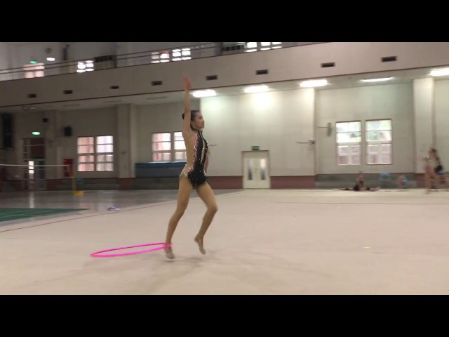 Taiwan RG 2017 master class Elizaveta Nazarenkova