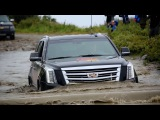 Приключения Cadillac Escalade на Баренцевом море!