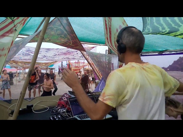 Dj Solnce in the Mix @ Masala Dance Private Party, Sweet Lake, Arambol, Goa, 30.03.2017 Video Part 1