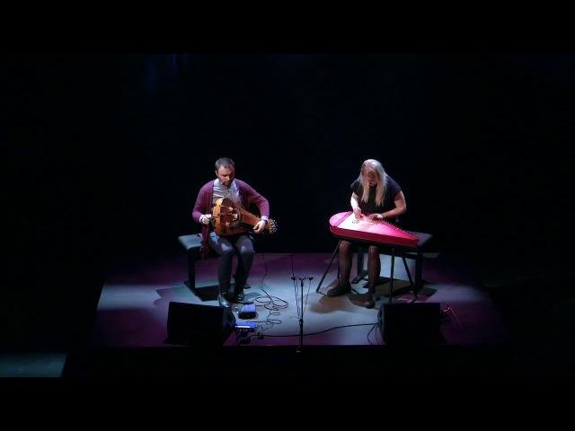 Maija Kauhanen Johannes Geworkian Hellman Live 2 Hurdy gurdy Kantele