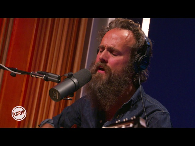 Iron Wine performing The Trapeze Swinger Live on KCRW