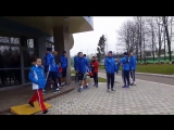 Первая тренировка сборной России в Новогорске