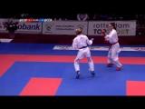 Финал до 55 кг: Алесандра Хасани (Хорватия) - Анжелика Терлюга (Украина)