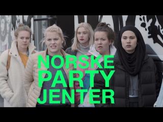 Norske partyjenter