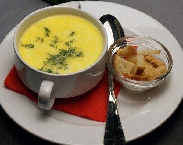 Сырный суп в мультиварке.