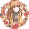 Девочка-осень.Страницы для блокнотов