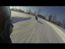 Ледовый мото трек. GSX-R R1 GSX-R