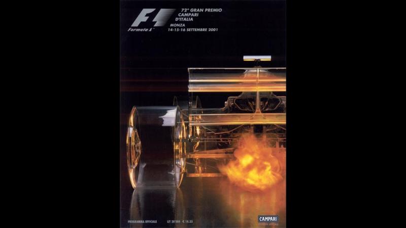 F1 2001. 15. Гран-При Италии, гонка